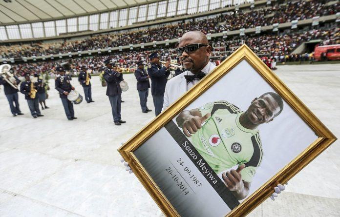 Big send-off: KwaZulu-Natal blew R3-million on the official funeral for Bafana captain Senzo Meyiwa