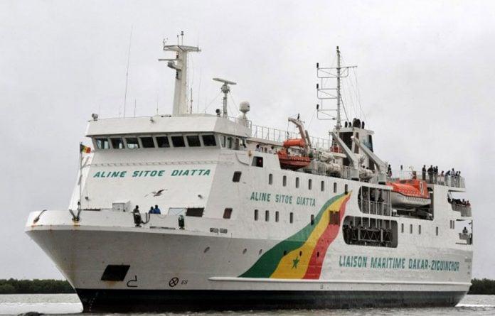 The Aline Sitoe Diatta was put to sea to replace the Joola