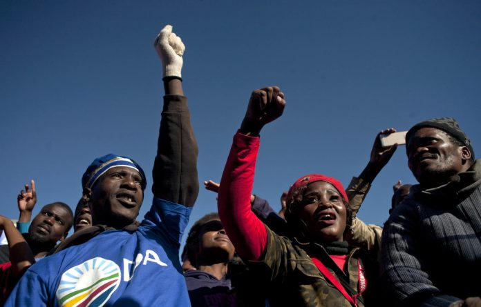 As late as last year the Democratic Alliance could unite with other parties on anti-Zuma and anti-corruption causes.