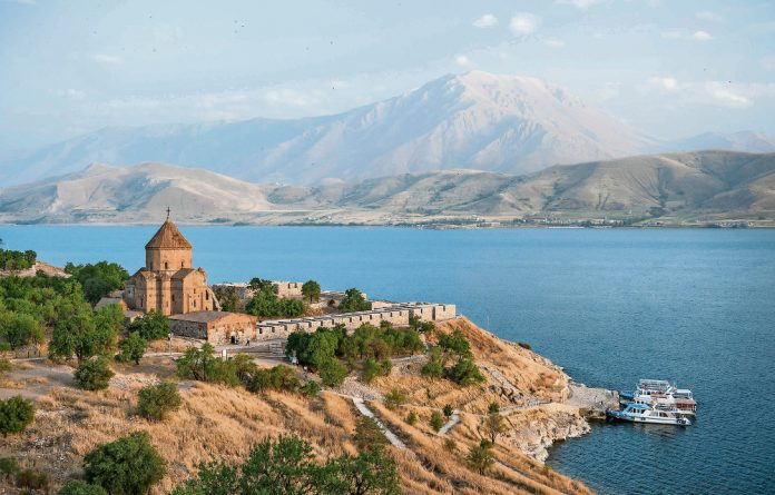 A short boat ride brings you to Akdamar Island in Lake Van