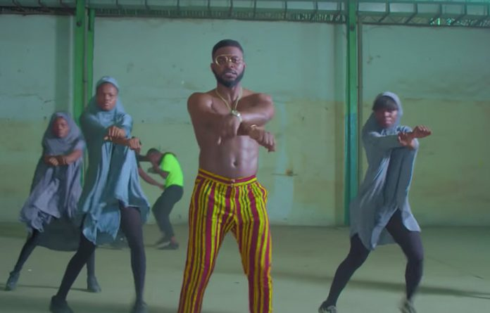 Scenes from Falz's remake of 'This is America' titled 'This is Nigeria'