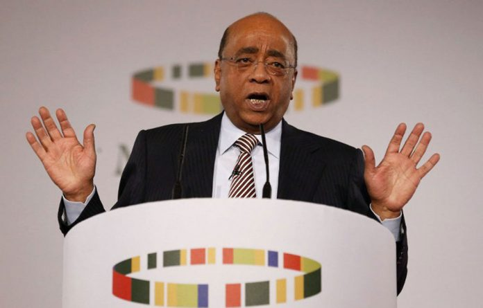 The Mo Ibrahim Foundation announced no winner for its good governance prize.