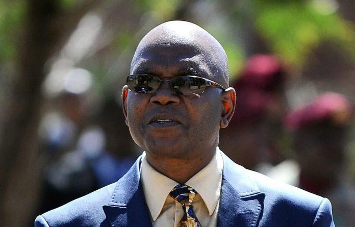 Former spy chief Richard Mdluli.