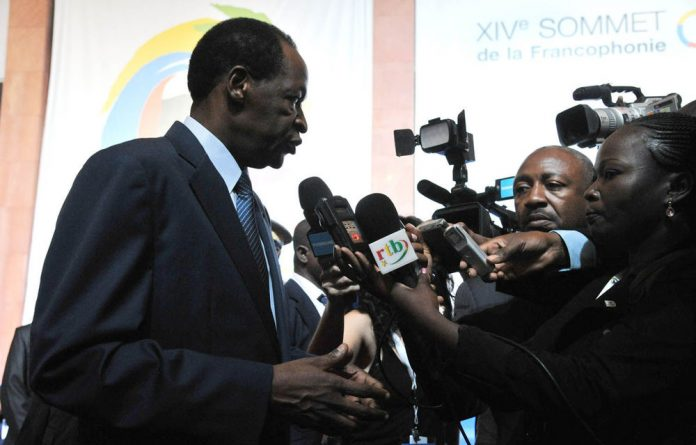 President Blaise Compaore of Burkina Faso.