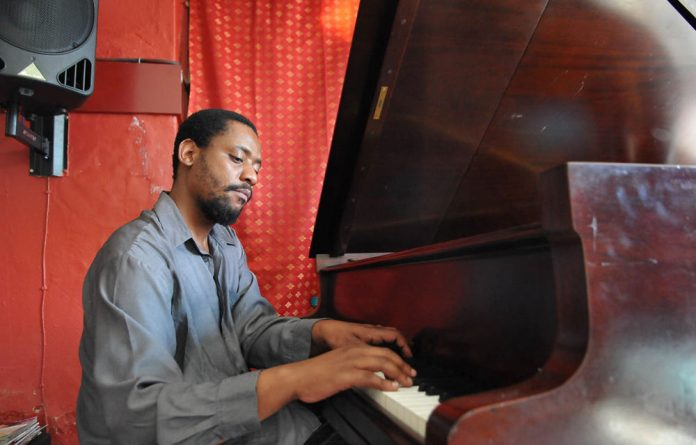 Piano principles: Afrika Mkhize is determined to make 'music with integrity'.