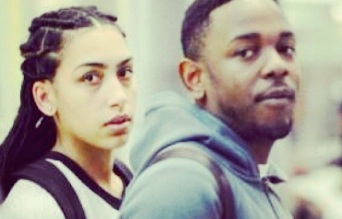 Kendrick Lamar photographed while on his trip to South Africa last year with his high school sweetheart