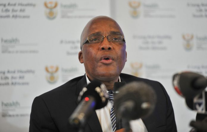 Health Minister Aaron Motsoaledi will respond to allegations made about the country's health system crumbling.