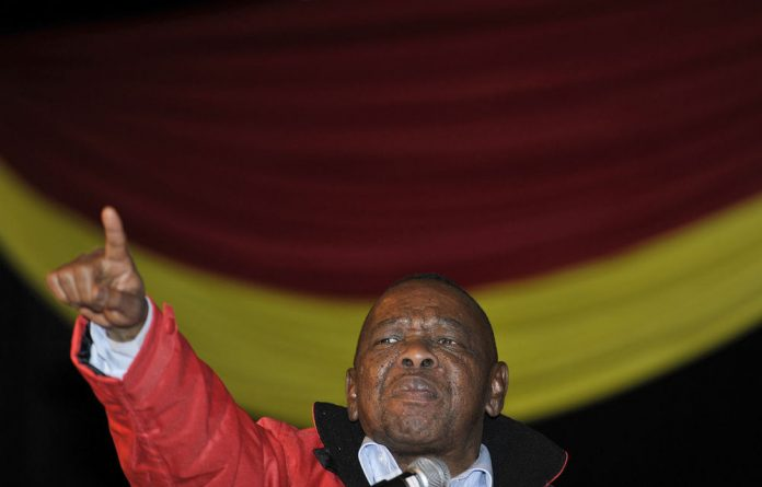 Higher Education Minister and SACP leader Blade Nzimande has called for a law to protect the president from insults.