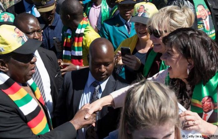Emmerson Mnangagwa's appeal to white voters