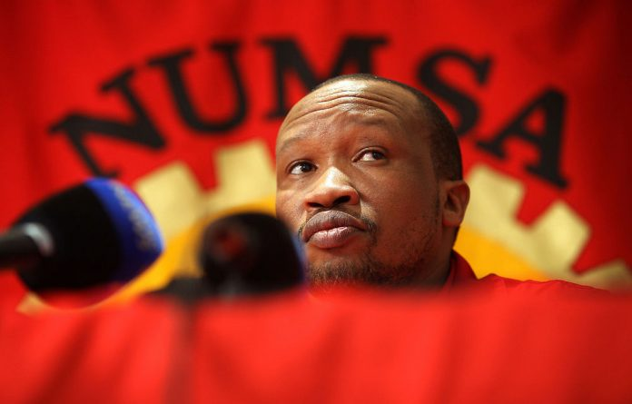 The alleged targeting of NUM secretary general has raised questions about political rifts within the tripartite alliance.