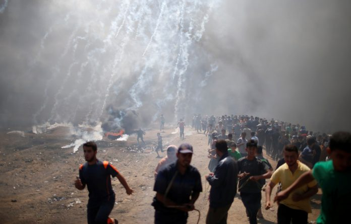 Mass protests began in the Gaza Strip in late March