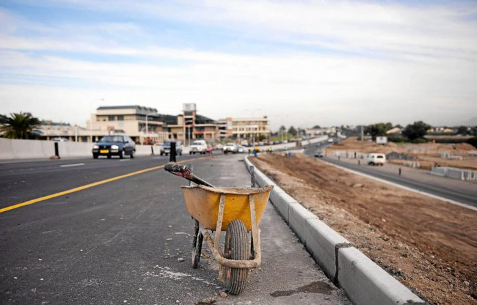 Projects such as the construction have placed additional strain on cash-strapped metropolitan municipalities.