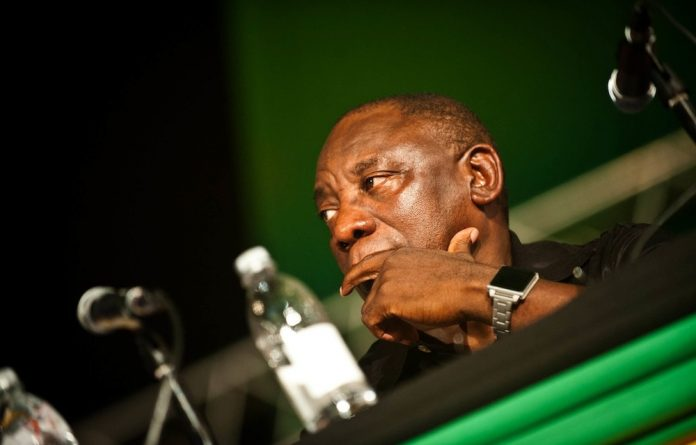 In a letter to Ramaphosa