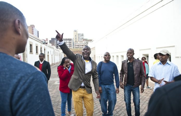 On the rise: Lufuno Gogoro intends to run for the EFF chairpersonship in Gauteng – the new party's strongest province in terms of support.