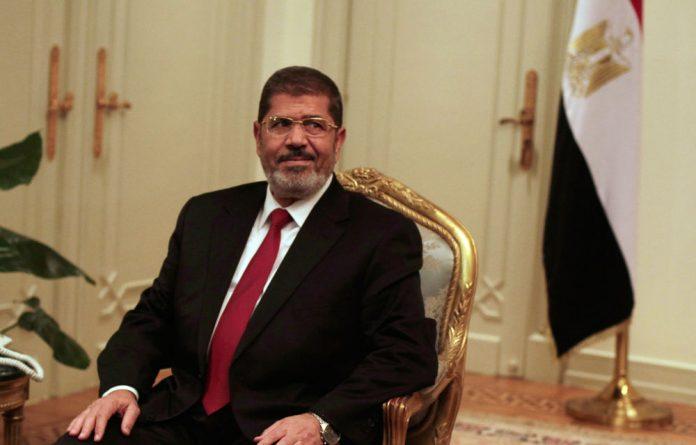 Egyptian President Mohamed Morsi.