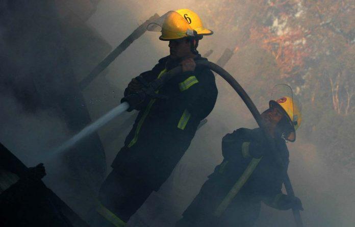 Kouga Municipality said the fire