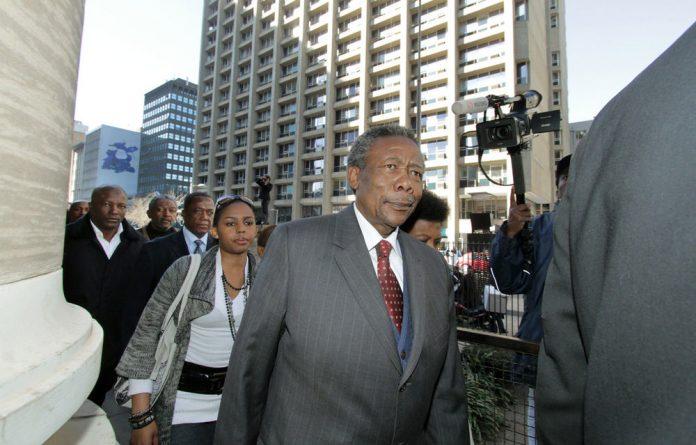 Former police chief Jackie Selebi