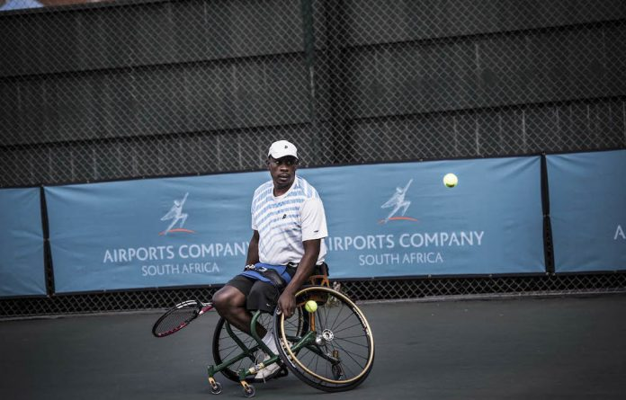 Patrick Selepe is the national development manager for wheelchair tennis.