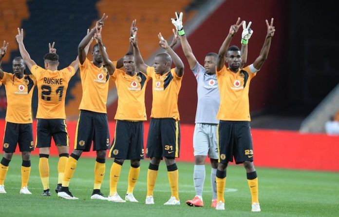 Salute the Chiefs: After a good win on Wednesday night the Amakhosi can approach the Soweto derby with confidence.