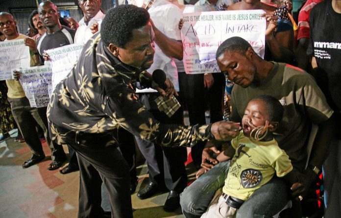 The ANCYL says it will not allow Nigerian preacher TB Joshua into the country