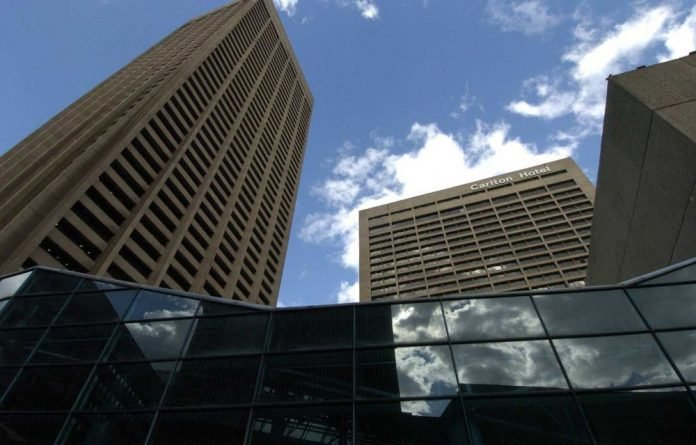 The Carlton Centre in downtown Johannesburg.