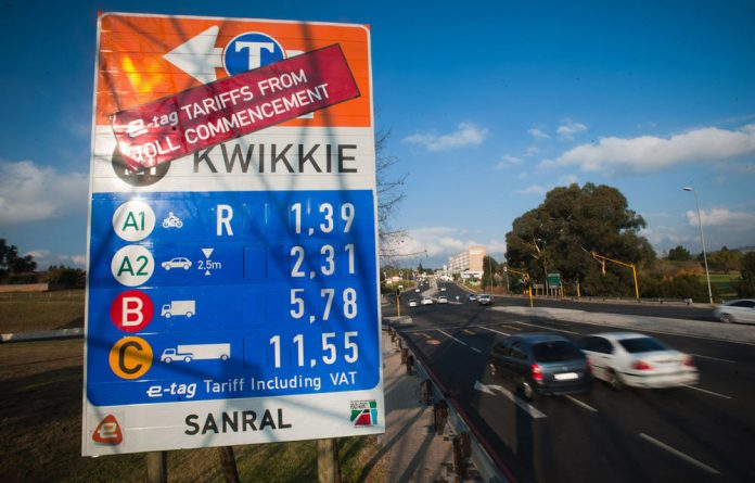 The government's announcement on e-tolling in Gauteng may be delayed