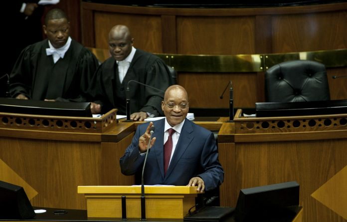 Jacob Zuma only received his invite for the State of the Nation Address yesterday