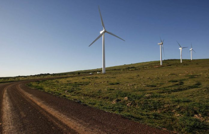 Winds of change: Windmills now come in all sorts of new forms and shapes to be more efficient.