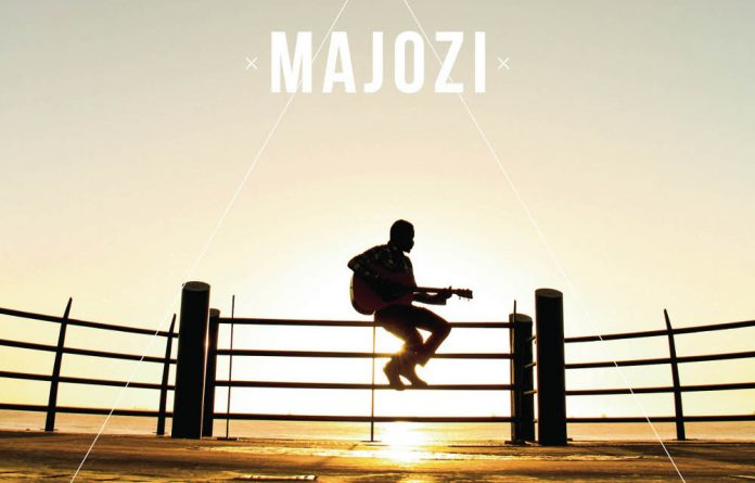 Nhlanhla Majozi on the cover of his Marvellous Light EP.