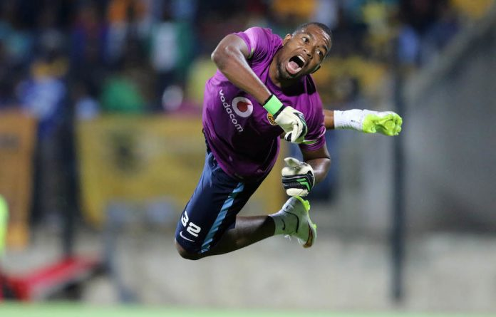 Nowhere to go: Itumeleng Khune will have to tone down his demands.