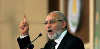 Muslim Brotherhood leader Mohamed Badie.