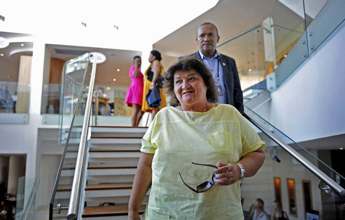 Public Enterprises Minister Lynne Brown has been accused of lying about corruption at Eskom.