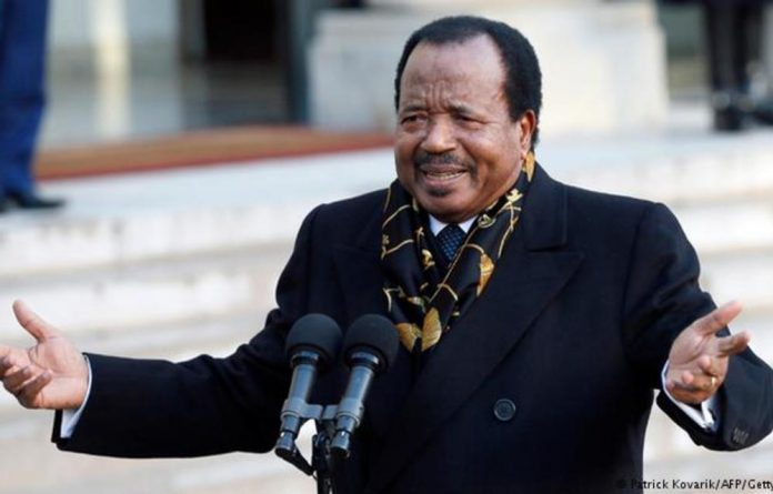 Eighty-five-year-old President Paul Biya