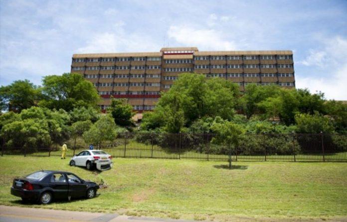 Former president Nelson Mandela has not been at One Military Hospital