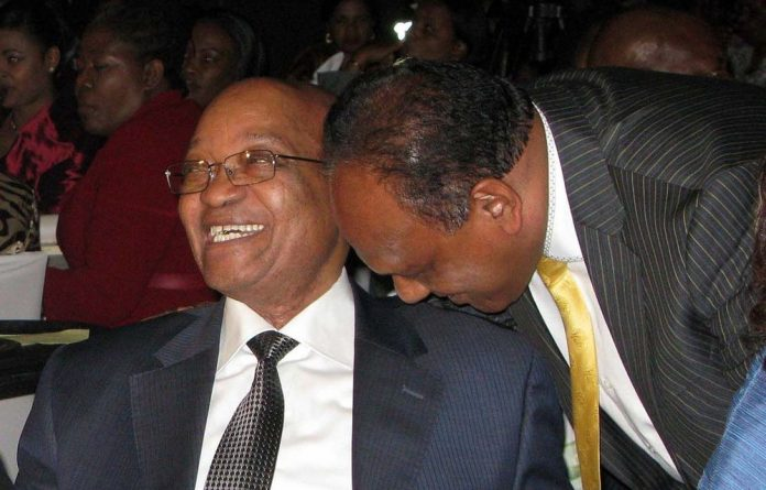 Friends: Jacob Zuma and Vivian Reddy