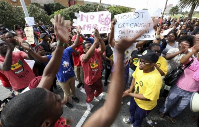 For the past two weeks students at several campuses embarked on a protest to call for the debt to be scrapped.