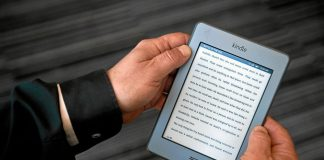 The limited web-browsing ability of Kindles ensures that pupils can focus on reading.