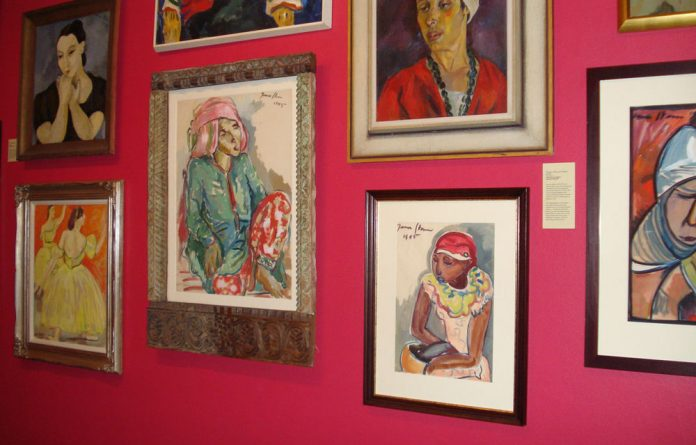 An Irma Stern picture has fetched R17.2-million at an auction in Johannesburg