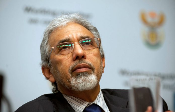 Ivan Pillay says the unit had been approved by the highest level of government.