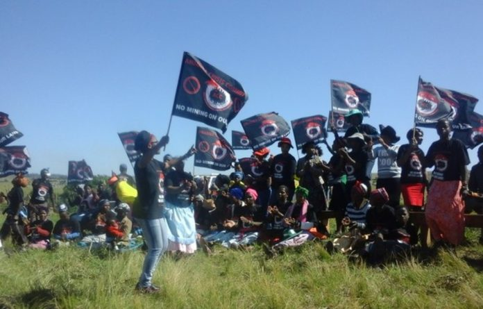 The Amadiba Crisis Committee has been fighting to prevent a mining project from going ahead in Xolobeni.