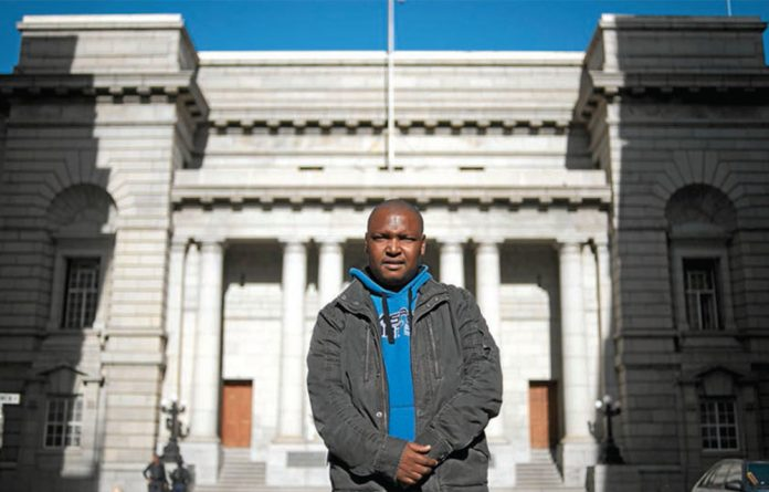 Bright future: David Modiba was mentored by great jurists while serving as a judges' clerk at the Constitutional Court.