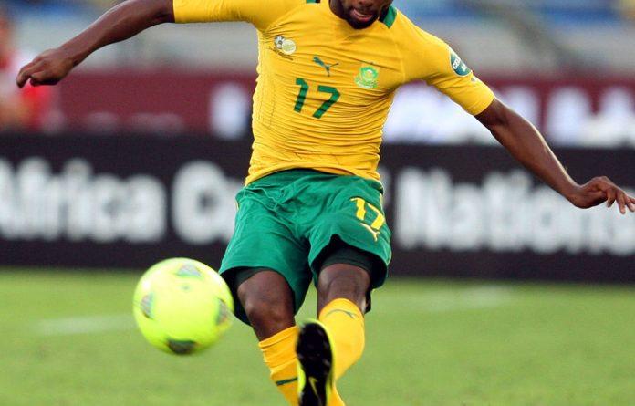 Bafana Bafana's Bernard Parker.