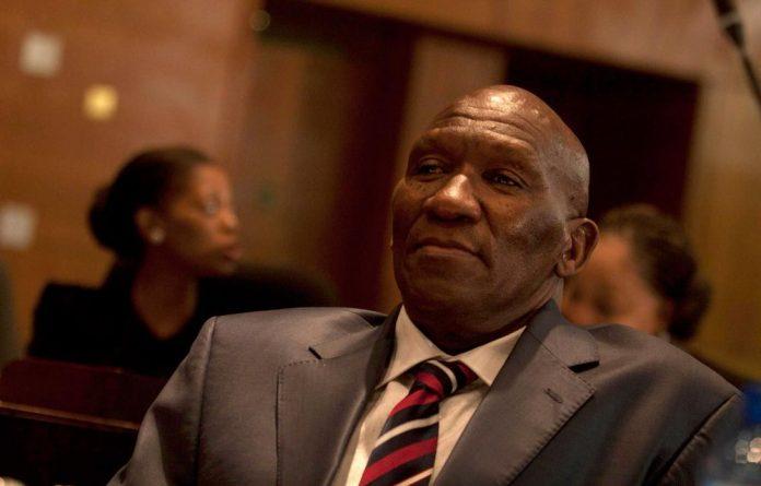 Former national police commissioner Bheki Cele.