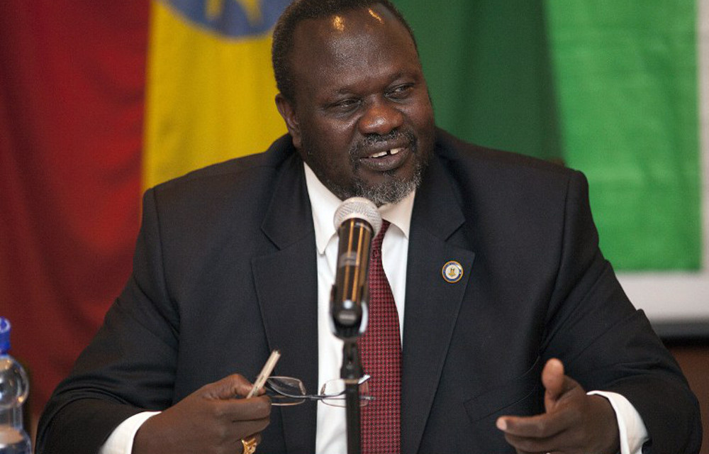 Almost the entire task force became infected, including ten cabinet ministers and First Vice President Riek Machar
