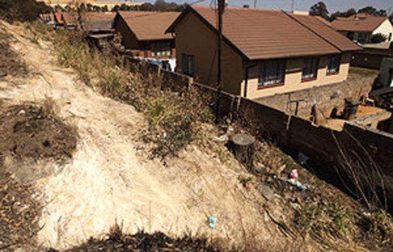 My neighbour, the mine dump