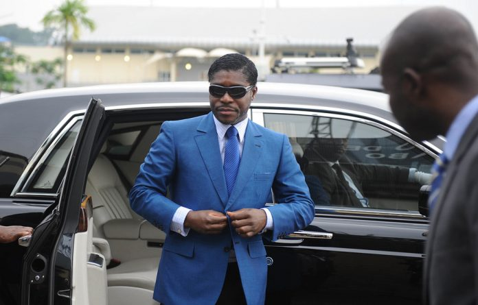 Hustler: Vice-president Teodorin Obiang — the son of Equatorial Guinea's president Teodoro Obiang — flaunts his lavish lifestyle despite the extreme poverty faced by many in his country.