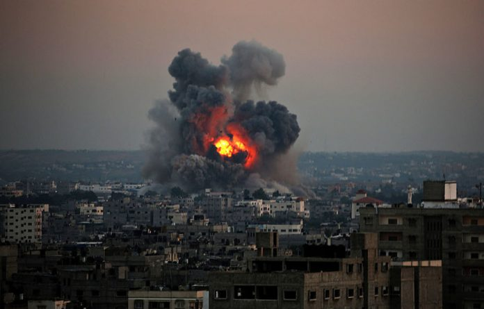 Israel said it had hit about 200 Hamas targets in Gaza and civilian casualties in the territory are mounting.