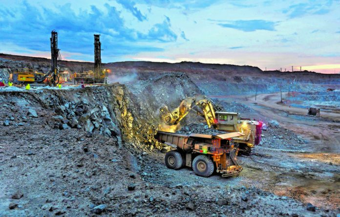 There are huge tensions between the government and the mining industry