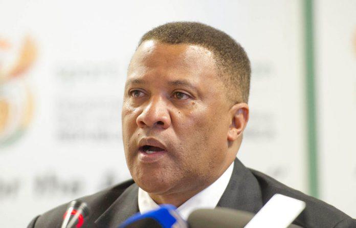 Suspended CSA CEO Gerald Majola.
