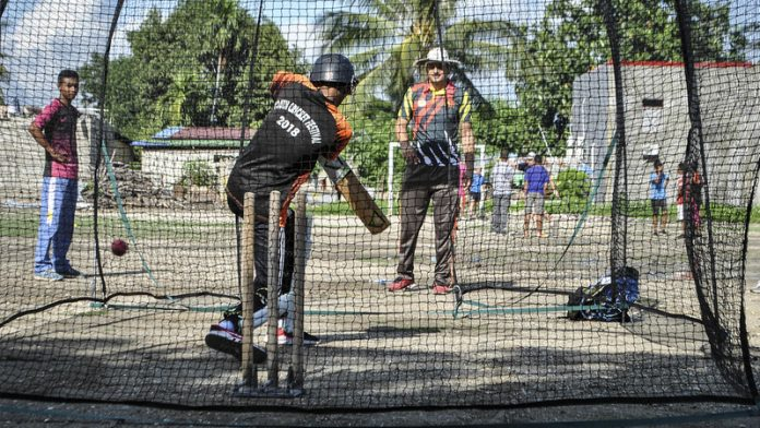 Cricket comes to the aid of East Timor